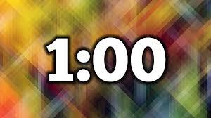 Timer 1 Mins 1 Minute Timer