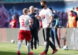 Head coach julian nagelsmann of hoffenheim gestures during the uefa europa league group c match between 1899 hoffenheim and sporting braga at. Rb Leipzig Coach Julian Nagelsmann Confident Of Keeping Angelino
