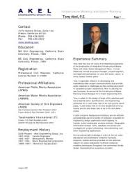 Great Sample Engineering Resume 2016 For Your Future Career Resume