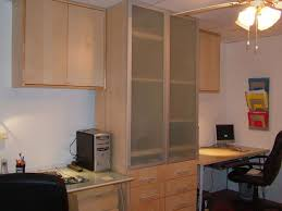 kitchen cabinets for home office. we wanted a built in home office but were on budget so ikea was the kitchen cabinets for