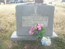 Effie Lucas Honaker (1895-1939) - Find A Grave Memorial