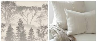 For the last wall paper idea that I am loving is a back drop of a nature  scene with the decor being primary white. Mirage wallpaper will turn your  bedroom ...