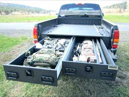 Truck Bed Slide Out Tool Box Sliding Truck Tool Boxes Slide Out Tool ...