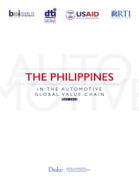 pdf the philippines in the automotive global value chain
