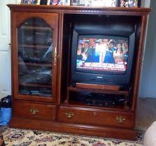 hooker furniture entertainment center. Gorgeous Hooker Furniture Cherry Wood Entertainment Center INCLUDES WORKING TV