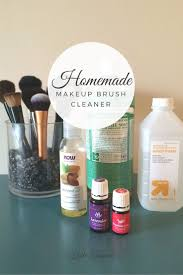 homemade non toxic makeup brush cleaner kate inspired
