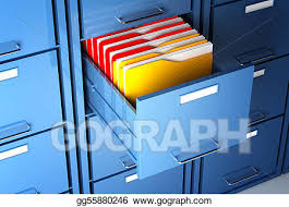 Filing cabinet folders Personal File File Cabinet And Folder Gograph Stock Illustrations File Cabinet And Folder Stock Clipart