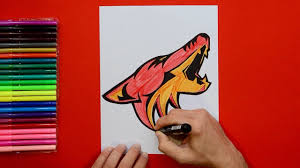 Jun 15, 2021 · kramer based his report on a post by craig morgan, who runs the arizona insider site (subscription required), detailing who the coyotes had reportedly interviewed to replace the departed rick tocchet. How To Draw The Arizona Coyotes Logo Nhl Team Youtube