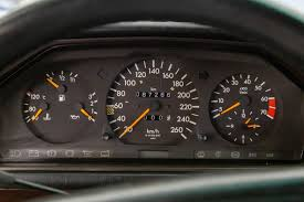 Page for mercedes benz enthusiasts. Mercedes Benz W124 Dashboard Fonts In Use