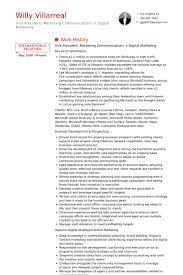 Digital Communications Resume Internet Marketing Resume Sample Barca Fontanacountryinn Com