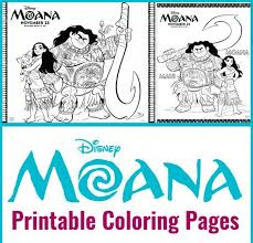 Discover these moana coloring pages for kids. Printables Disney S Moana Coloring Sheets Life She Has