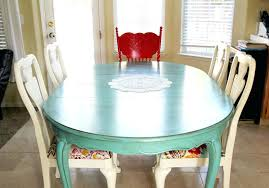 painted dining room set via the sy pepper i chalk paint kitchen table and chairs makeover