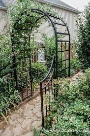 garden arches backyard landscaping