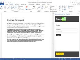 How To Digitally Sign A Word Document Signinghub For Word