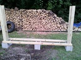 ... Wood Holder Outdoor Firewood Rack Ideas: Unique Outdoor Firewood Rack  Ideas ...