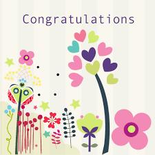 Congratulations Card White