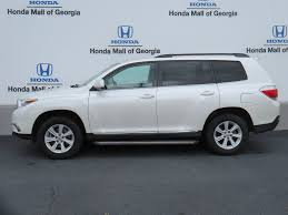2013 Used Toyota Highlander 4DR FWD I4 LE at Honda Mall of Georgia ...