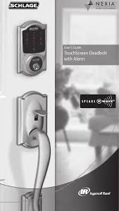 CHEETAH Connected Touchscreen (Wireless Door Lock TX) User Manual ...