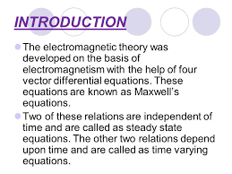 maxwell s equations 2 introduction