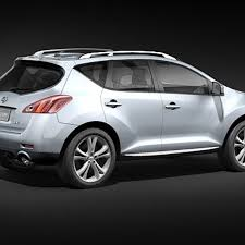 Nissan Murano 2009-2012 3D Model $79 - .max .3ds - Free3D