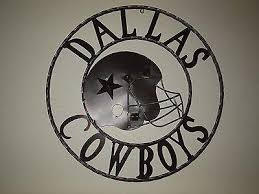24 dallas cowboys football team decor metal art western home wall decor new on dallas cowboys logo wall art with 24 dallas cowboys football team decor metal art western home wall