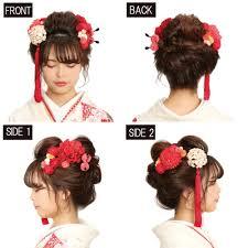 清楚な和風スタイルでキメたい方へ新日本髪まとめ髪コレクション