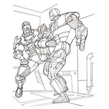 Print or download jam packed action images of iron man for your kids so that they can enjoy the fun of learning with abundance of opportunities to fill different shades and color in the coloring sheets. Top 20 Free Printable Iron Man Coloring Pages Online