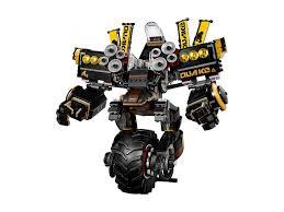 Toys & Games Lego Ninjago Movie Quake Mech 70632 NEW LEGO Complete Sets &  Packs firebirddevelopersday.com.br