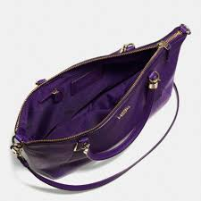canada lyst coach small kelsey cross in pebble leather in purple 066ed 7e889