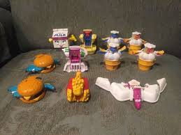 Vintage happy meal toys