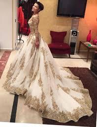 wedding dresses a line wedding dresses gold lace wedding dress