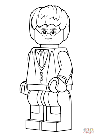 Lego Harry Potter Coloring Page From