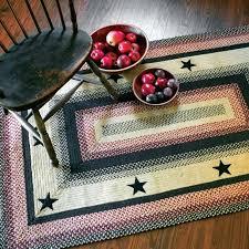 primitive braided rug jute rugs