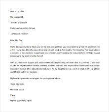 Thank You Letter 10 Thank You Letters To Professor Pdf Word Sample