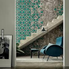 concrete and a dissolving pattern
