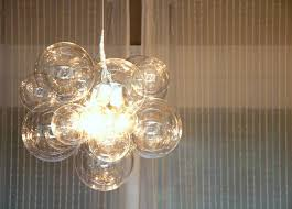 today she s sharing her totally fun bubble ball chandelier tutorial