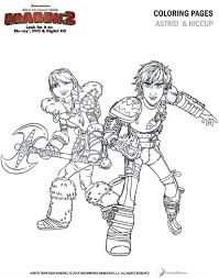 In this incredible movie, five years have passed since hiccup and toothless united the dragons and vikings of berk. How To Train Your Dragon 2 Coloring Page Astrid And Hiccup Mama Likes This