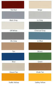 Concrete Floor Color Chart Concrete Floor Paint Colors Indoor And Outdoor Ideas With