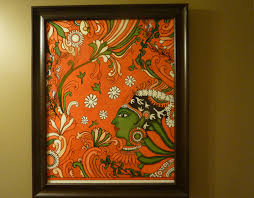 here she is all framed up kerala mural painting