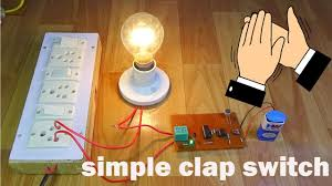 Clap Control Light Switch Simple Clap Control Home Automation Clapswitch