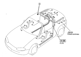 miata power antenna wiring diagram wiring diagrams nb remote wire tap in trunk mx 5 miata forum