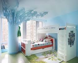 ... Impressive Various Cool Pictures Of Home Interior Decoration Design  Ideas : Beautiful Image Of Kid Blue ...