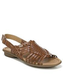 naturalizer whistle leather woven huarache sandals