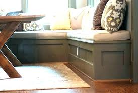 banquette furniture with storage. Banquette Bench With Storage Seating Nook Kitchen Furniture B