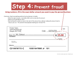 How To Write A Check An Overview