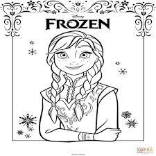 Kleurplaten Frozen A4 Formaat