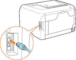 if you want to connect the printer and computer a lan cable if you want to connect the printer and computer a lan cable only for lbp5050n