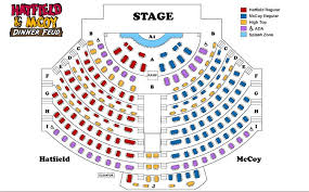 Dixie Stampede Gatlinburg Seating Chart Buy Tickets Hatfield Mccoy Christmas Disaster Dinner Show