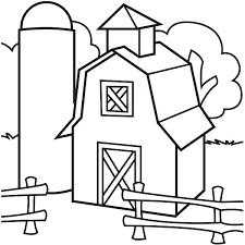 Barn Coloring Page Fashionadvisorinfo