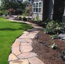 Image Backyard Landscaping Stunning Front Yard Path Walkway Design Ideas 41 Pinterest 48 Front Yard Path Walkway Design Ideas Landscaping Flower Bed